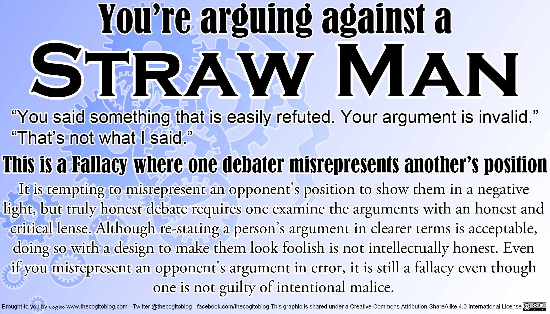 how to make a straw man